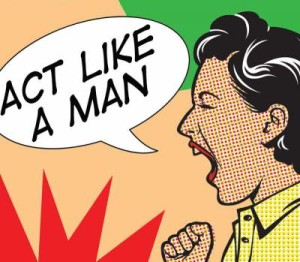 When a man acts like a man he can turn a woman on