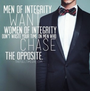 Chase a woman - but only when she wants to capture your heart